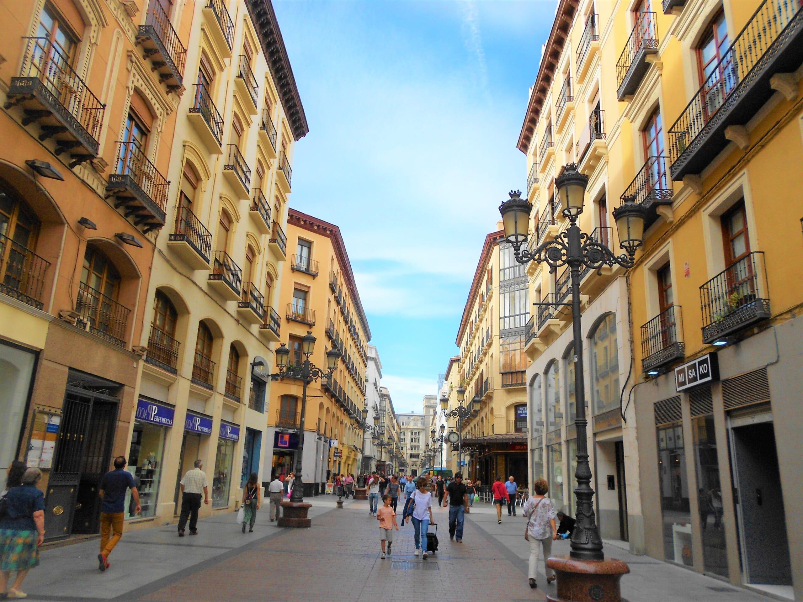 北スペインの観光スポットであるアラゴンのサラゴサ